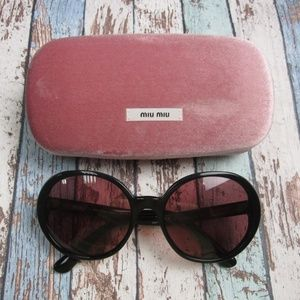 Miu Miu SMU 08N 1AB-0A0 Sunglasses/Italy/OLP476